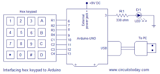 digital code lock using arduino circuit diagram program and theory circuit diagram digital combination lock using arduino