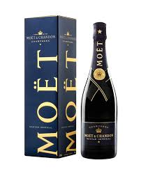 home wine chagne moet chandon nectar gift box