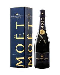 home wine chagne moet chandon nectar gift box