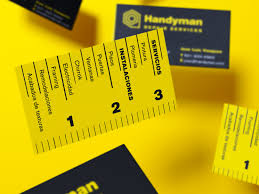 handyman business handyman business card business card design inspiration