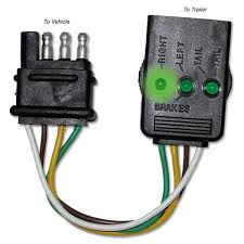 trailer 4 pin wire diagram wiring diagram and schematic design 4 pin to 7 trailer wiring diagram exles and instructions