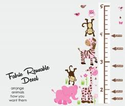 Child Height Chart For Wall Growth Chart Wall Decals Height Wall Chart Stickers For