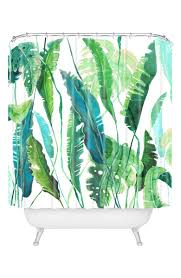 Designs Made From Leaves Deny Designs Leaves Shower Curtain Nordstrom