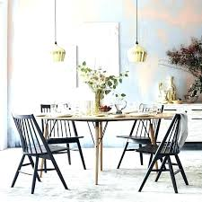 west elm gl dining table room chairs industrial round expandable