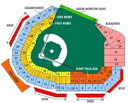 Fenway Park Seating Chart With Rows And Seat Numbers Fenway Park Seating Chart Boston Red Sox Red Sox Baseball
