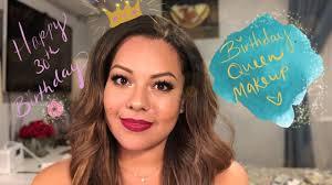 birthday queen makeup