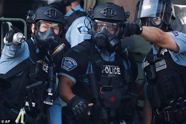 Minneapolis Police Riot / Kit B Minecraft Skin