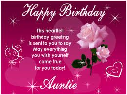 Happy Birthday Aunt Great Birthday Wishes And Messages For Aunts