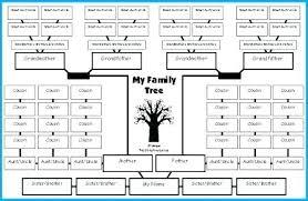 Free Family Tree Printable Family Tree Template Blank Free