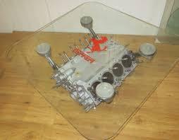 unique ferrari 348 f119 v8 engine block