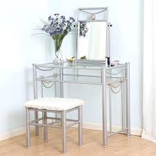 glass makeup vanity fancy clear vanity table with glass makeup vanity table furniture custom corner makeup