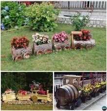 garden art. DIY Train Planter -20 Colorful Garden Art Decorating Ideas