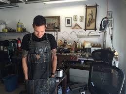 he represents the next generation of jewelers and was raised with the craft embedded in his genetics as he puts it