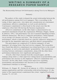 Research Paper Summary Of Papers Writing Museu Rosemarygemmell