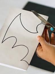 Halloween Bat Decorations Craft For Kids | Hgtv