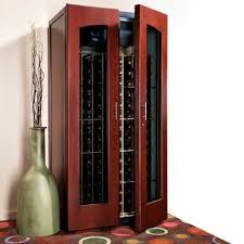 Le Cache Wine Cabinet Le Cache Wine Cabinet Contemporary 2400 Classic Cherry The