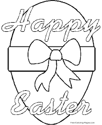 Small Picture Free Easter coloring pages Happy Easter Egg Easter for Kids