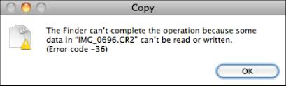 File Copy Mac The Curious Case Of Canon Raw Image Files That Cant Be Copied In