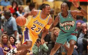 Orange cat basketball player number 23. Lebron James Called Cedric Ceballos For Permission To Wear No 23 Jersey With Lakers Lakers Nation