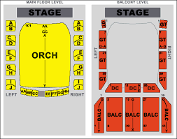 Modell Lyric Seating Chart Modell Performing Arts Center At The Lyric Seating Chart