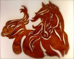 more colors horse wall hanging  on metal horses wall art with outdoor horse decor etsy