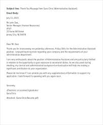 Ideas Collection Thank You Letter After Second Interview Rejection For Your Format