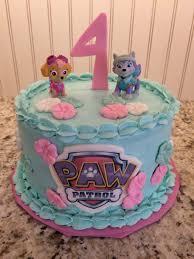skye everest girls paw patrol cake e