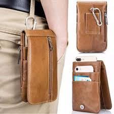 presyo ng men s premium soft genuine leather vertical cellphone holster waist belt bags intl sa pilipinas