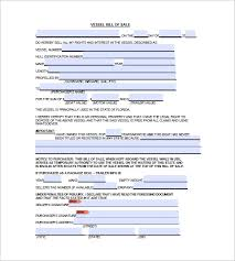 bill of sale wording template boat bill of sale 8 free word excel pdf format download free