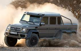 Mercedes-Benz G63 AMG 6x6 is New King of the G-Class Family