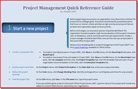 project management quick reference guide the project management quick reference guide brian smiths