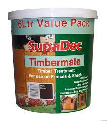 Timbermate Color Chart Supadec Timbermate 6l Dark Brown