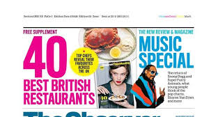 2014 In British Music Charts Observer Watch The Newspaper Review Of Sundays Front Pages