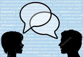 Gente hablando vector, gráfico vectorial, imágenes de Gente hablando  vectoriales de stock   Depositphotos®