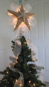 view in gallery real starfish made into a tree topper