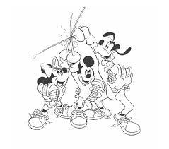 Mickey En Zijn Vrienden Picknick Kleurplaten Tropicalweather