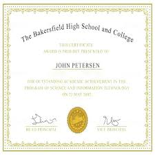 Classroom Certificate Template Free Printable Certificates