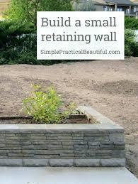 short retaining wall small garden wall ideas a retaining front patio outdoor brick garden walls ideas short retaining wall