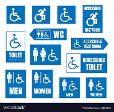 restroom signs. Modren Restroom On Restroom Signs