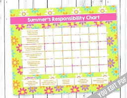Chore Chart Samples Chore Chart Example 1 2 For Kids Toddler Printable Developing Chores
