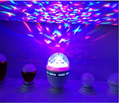 Rotating Disco Light E27 6w Colorful Auto Rotating Rgb Led Bulb Stage Light Effect Party Lamp Laser Disco Light For Home Decoration Lighting Lamps