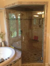 CharlotteNCcornershowerremodeljpg - Basic bathroom remodel