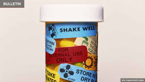 Pill Bottle Size Chart Prescription Drug Labels Understand Directions Health