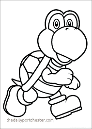Mario Kart Coloring Pages New Printable Coloring Book For Kids New