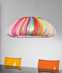 colorful pendant lighting. colorful fabric pendant lamp muse of axo light lighting e
