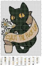 Cat Cross Stitch Patterns Mesmerizing The Most Awesome Images On The Internet Stitch It Up Pinterest