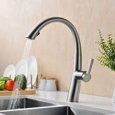 faucet handle kitchen faucet with pull down sprayer luxury industrial tosca wall mount of glacier bay