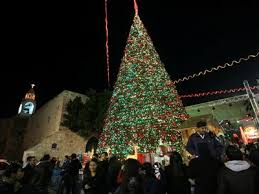 Bethlehem-christmas-tree-lighting-celebration-in-manger-square-