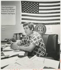 State Senator Jack Welborn of Kalamazoo, 1977   Ann Arbor District Library