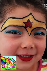 gallery of wonder woman face paint awesome ic wonder woman makeup tutorial for